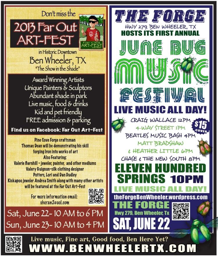 Art-Fest and June Bug Festival