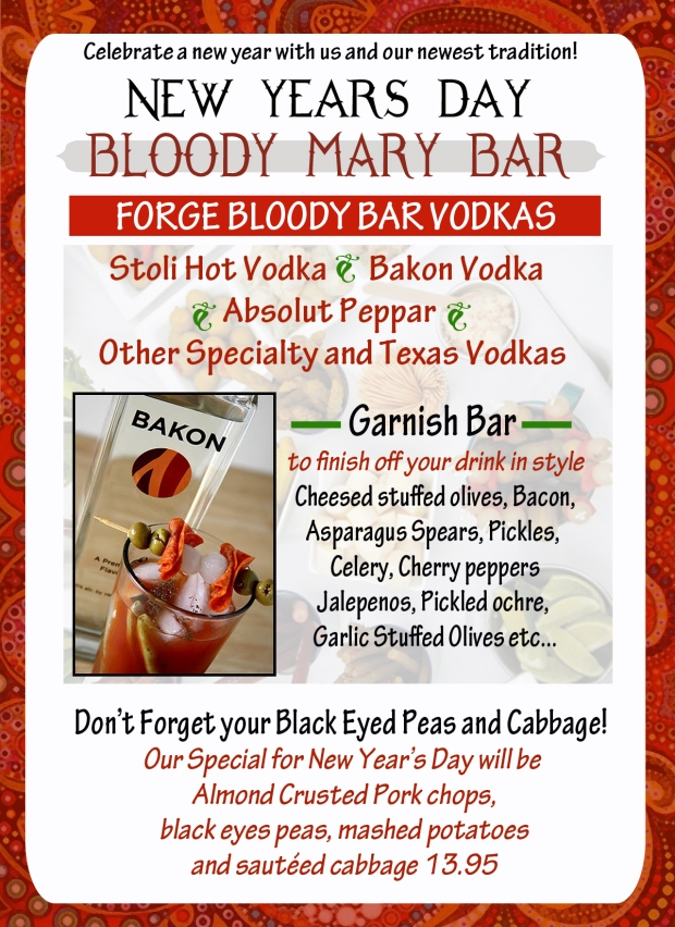Bloody mary Bar 2013
